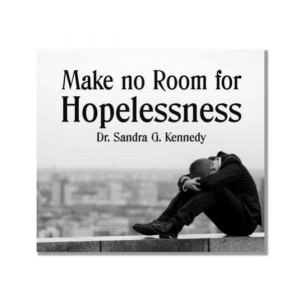 Make No Room for Hopelessness CD New Bkst