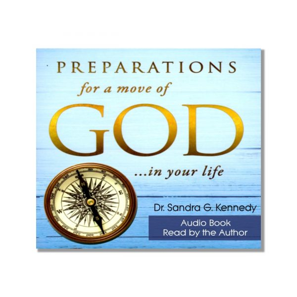 Preparations for a Move of God Audio Book NEW Bkst