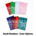 Small Bandana Color Options