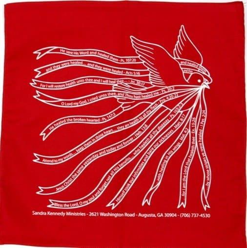 red prayercloth
