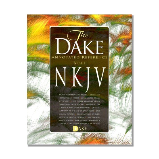 Dake Annotated Reference Bible NKJV