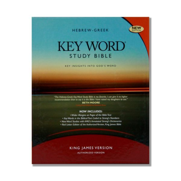 Hebrew-Greek Key Word Study Bible Bkst