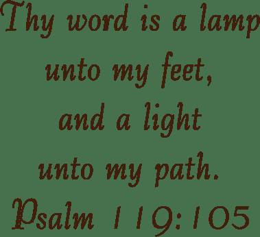 Psalm 119 Homepage