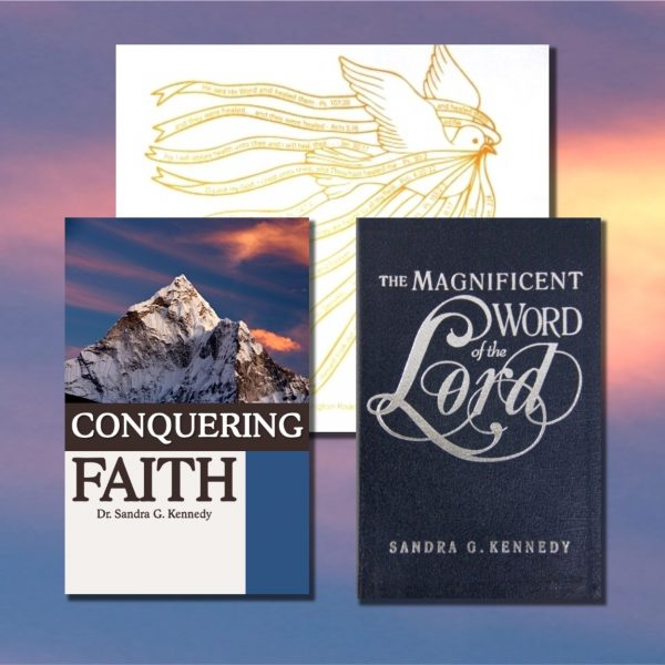 Offer #124 Conquering Faith Bkst